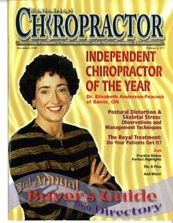 Chiropractor Magazine Cover